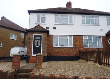 Thumbnail 3 bed semi-detached house to rent in Hook Road, Chessington