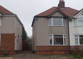 Thumbnail 3 bed semi-detached house for sale in Glenfield Avenue, Weddington, Nuneaton