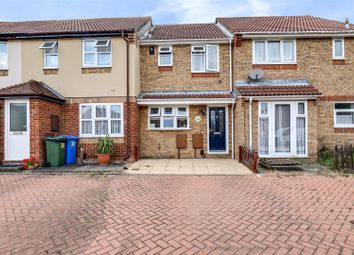 Thumbnail 2 bed terraced house for sale in Beauvoir Drive, Kemsley, Sittingbourne