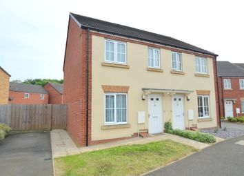 Thumbnail 2 bed semi-detached house for sale in Thurston Drive, Kettering