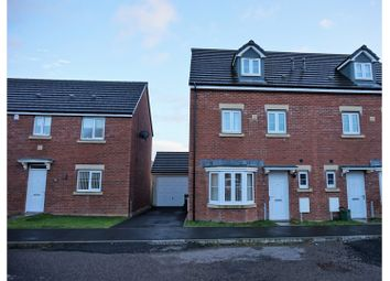 Thumbnail 4 bed town house for sale in Tir Founder Fields, Aberdare