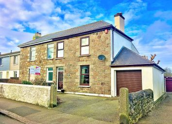 Thumbnail 3 bed semi-detached house for sale in Dolcoath Road, Camborne