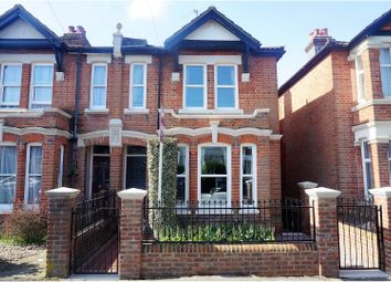 Thumbnail 3 bed semi-detached house for sale in Norfolk Road, Southampton