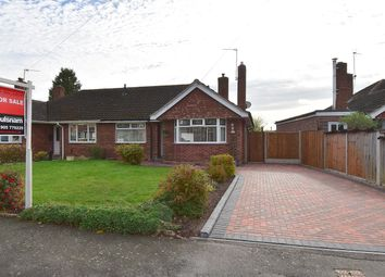 Thumbnail 2 bed semi-detached bungalow for sale in Alexander Avenue, Droitwich
