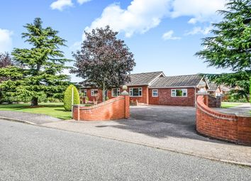 Thumbnail 4 bed detached bungalow for sale in Lowgate, Tydd St. Mary, Wisbech