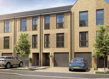 "Thumbnail 3 bedroom terraced house for sale in ""Calico"" at Hackbridge Road, Wallington"