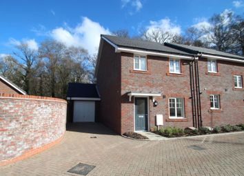 Thumbnail 3 bed semi-detached house to rent in Somerley Drive, Forgewood, Crawley