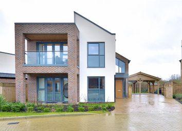 Thumbnail 4 bed detached house for sale in Ferranti Place, Oakgrove, Milton Keynes