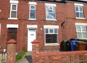 Thumbnail 3 bedroom terraced house for sale in Claremont Road, Stockport