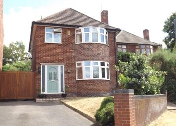 Thumbnail 3 bed detached house for sale in Town Street, Bramcote, Nottingham, Nottinghamshire