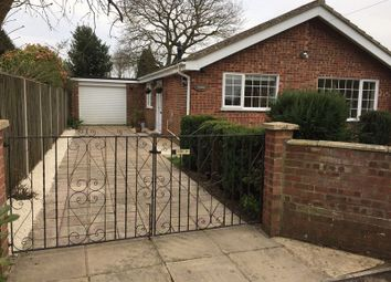 Thumbnail 3 bed detached bungalow for sale in Kingsway, North Walsham