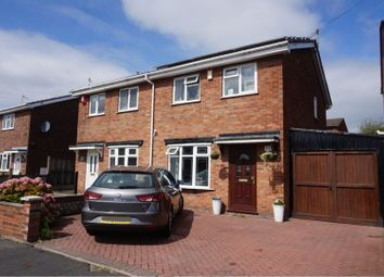 Thumbnail 3 bed semi-detached house for sale in Souldern Way, Meir Hay, Stoke-On-Trent