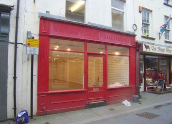 Thumbnail Retail premises to let in Bridge Street, Haverfordwest, Pembrokeshire