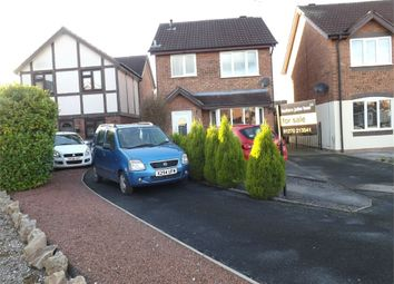 Thumbnail 3 bed detached house for sale in Merlin Way, Crewe, Cheshire
