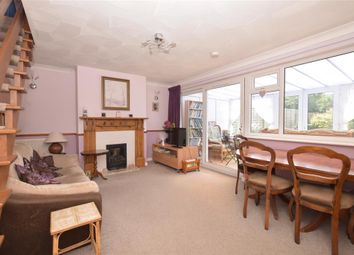 Thumbnail 3 bed terraced house for sale in Kipling Avenue, Goring-By-Sea, Worthing, West Sussex