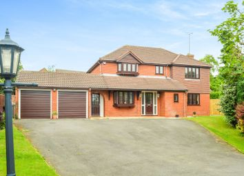 Thumbnail 4 bed detached house for sale in Carisbrooke Gardens, South Knighton, Leicester