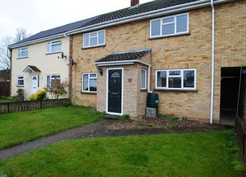 Thumbnail 3 bed terraced house to rent in Manor Road, Long Stratton, Norwich