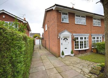 Thumbnail 3 bed semi-detached house for sale in Highfield Road, Poynton, Stockport