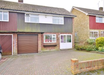 Thumbnail 3 bedroom semi-detached house for sale in Onslow Gardens, Ongar, Essex