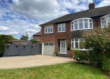 Thumbnail 4 bed semi-detached house for sale in Coniston Drive, Handforth, Wilmslow