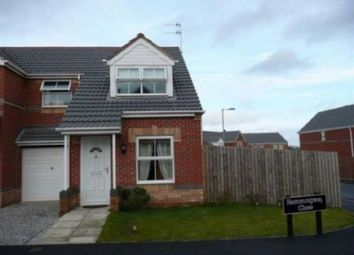 Thumbnail 3 bed semi-detached house to rent in Hemmingway Close, Havercroft, Wakefield
