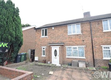 Thumbnail 3 bed semi-detached house to rent in Wilford Road, West Bromwich, West Midlands