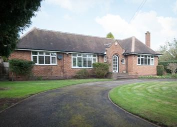 Thumbnail 4 bed detached bungalow for sale in Sherifoot Lane, Four Oaks, Sutton Coldfield