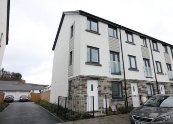 Thumbnail 3 bed end terrace house for sale in Sourton Square, Saltram Meadows, Plymstock