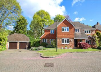Thumbnail 5 bed detached house for sale in Chaucer Grove, Camberley, Surrey