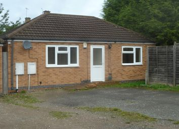 Thumbnail 2 bed bungalow to rent in Stockland Road, Leicester