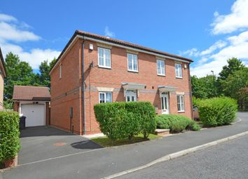 Thumbnail 3 bed semi-detached house for sale in Queensbury Gate, Longbenton, Newcastle Upon Tyne