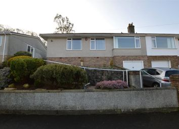 Thumbnail 3 bed semi-detached bungalow for sale in Dunstone View, Plymouth, Devon