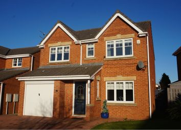 Thumbnail 4 bed detached house for sale in Edinburgh Drive, Bedlington