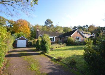 Thumbnail 5 bed detached bungalow for sale in Vale Close, Lower Bourne, Farnham, Surrey