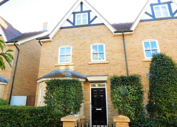 Thumbnail 4 bed semi-detached house for sale in Brunel Walk, Fairfield, Hitchin