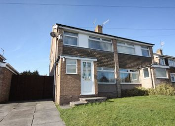 Thumbnail 3 bed semi-detached house for sale in Rossendale Close, Prenton, Wirral