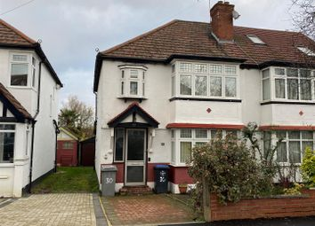 Thumbnail 3 bed semi-detached house for sale in Abbotts Drive, Wembley