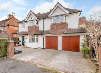 Thumbnail 4 bed detached house for sale in Hillview Crescent, Guildford