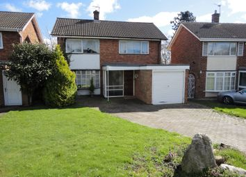 Thumbnail 3 bed detached house for sale in Hillcrest Road, Sutton Coldfield, West Midlands