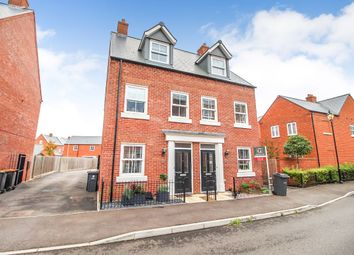 Thumbnail 3 bed semi-detached house for sale in Hazelwick Drive, Great Denham, Bedford
