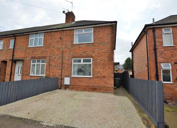 Thumbnail 2 bed end terrace house for sale in Coronation Avenue, Wigston