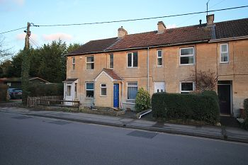 Thumbnail 2 bed terraced house to rent in Wyke Road, Trowbridge