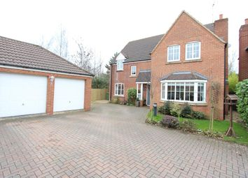 Thumbnail 4 bed detached house for sale in Durrell Drive, Cawston, Rugby