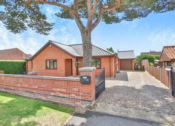 Thumbnail 3 bedroom detached bungalow for sale in Dereham Road, Easton, Norwich