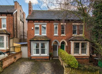 Thumbnail 5 bedroom semi-detached house for sale in Ebers Road, Mapperley Park, Nottingham