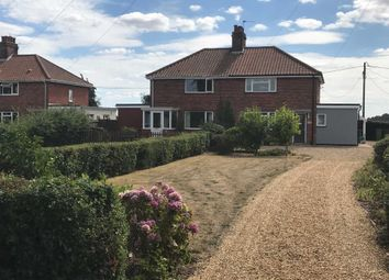 Thumbnail 3 bed semi-detached house for sale in The Oaks, Rockland St. Mary, Norwich