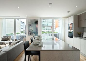 Thumbnail 2 bed flat to rent in North Wharf Rd, London