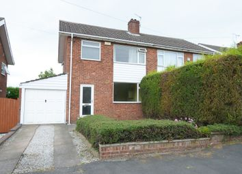Thumbnail 3 bed semi-detached house for sale in Wentworth Avenue, Walton, Chesterfield