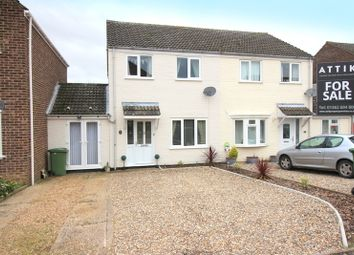 Thumbnail 3 bedroom semi-detached house for sale in Pheasant Close, Mulbarton, Norwich