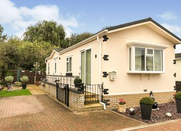 Thumbnail 2 bed mobile/park home for sale in Cosy Nook Park, Ely Road, Waterbeach, Cambridge